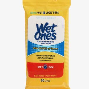 8 300x300 - Wet Ones Antibacterial Hand-wipes (20 count)