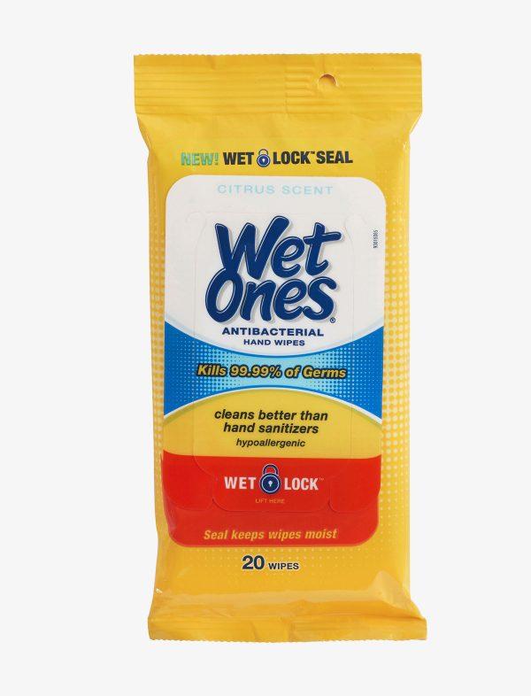 8 600x786 - Wet Ones Antibacterial Hand-wipes (20 count)