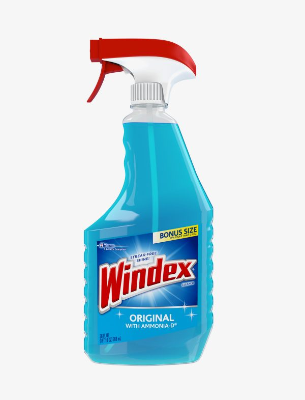 9 600x786 - Windex Original Glass Cleaner 26 ounces (Non-Organic)